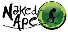 The Naked Ape logo